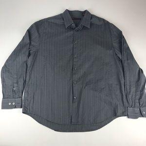 Perry Ellis Men's XL Long Sleeve Button-Up Shirt